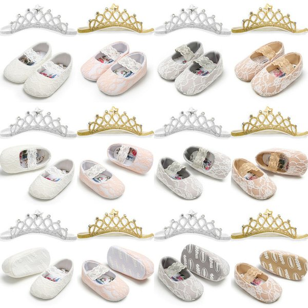 New Arrival Soft Leather Baby Toddler Infant Crawling Walking Shoes Non Slip Sole Prewalker
