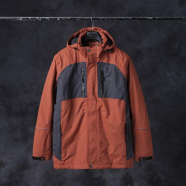 Casual Men Men's Outdoor Cotton Jacket Winter Parka Men Outdoor Sports Waterproof Jacket Quilted Vestiti Uomo Clothes MF030