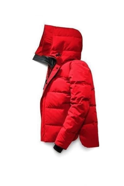 Klasik Tasarım Kış Kalın erkek Kaz Marka Aşağı Parkas Ceketler Mont Moda Rüzgar Geçirmez Kayak Erkek Aşağı Ceket S-XXL
