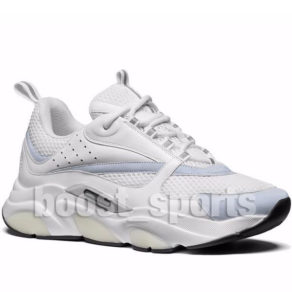 Yeni B22 Beyaz Sneakers Yüksek Kalite Erkek Siyah Üçlü Tess Mesh Eğitmenler Moda Kadınlar Lüks Fransız Tasarımcı Rahat Ev Koşu Ayakkabıları