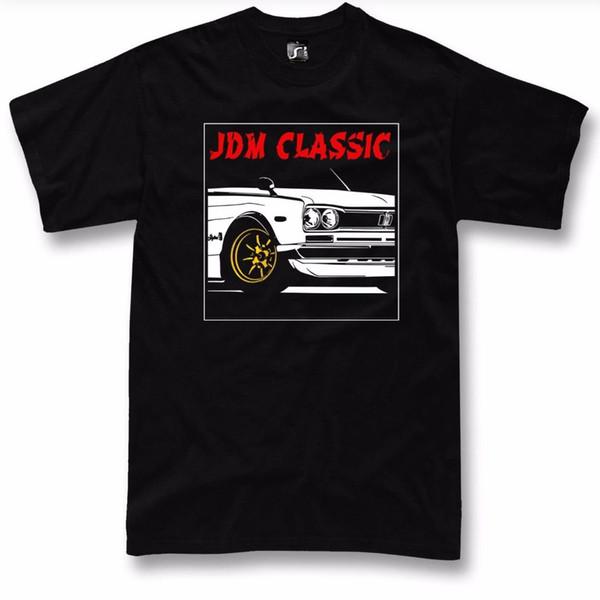 Jdm Nissan Hayranları Skyline T Gömlek Hakosuka Gt R Klasik Sürüklenme Tuning Araba T Gömlek Tops Yaz Serin Komik