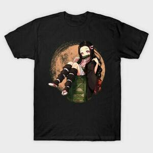 Nuovo demone Slayer Kimetsu No Yaiba Nezuko Ragazza T Shirt S 5XL