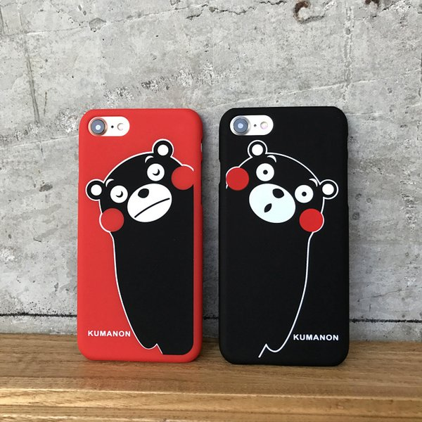 Affaire de bande dessinée de mode imprimé téléphone Casefor IPhoneX 7 / 8P 7/8 6 / 6sP 6 / 6s cas de téléphone portable givré dur Shell Couple Protection Set