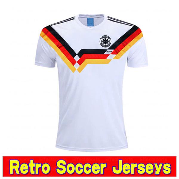Rétro 1990 Allemagne blanc