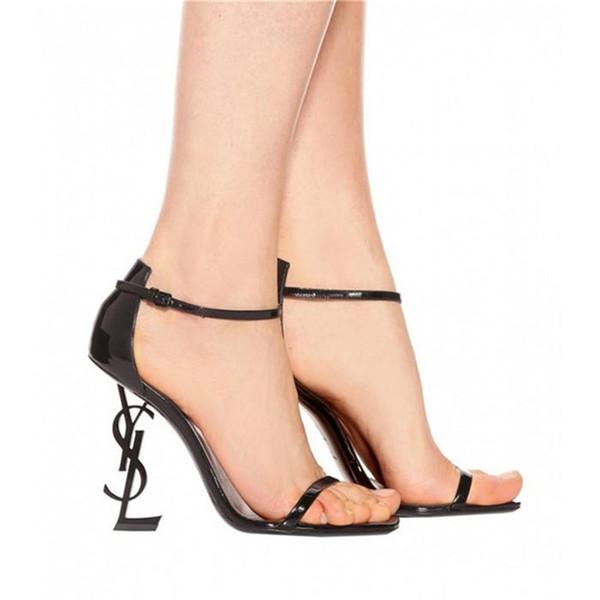 als pic schwarze sandalen