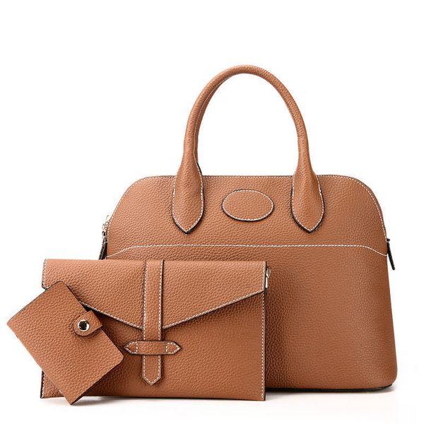 Fashion Portable Composite Bags Three Pcs Bags Per Set Classic Simple Shoulder Bag High End Quality Women Hand Bags
