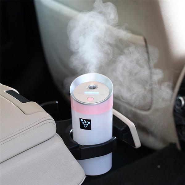 300ML Humidificateur de brume fraîche Portable Voyage USB Mini Diffuseur d'arômes par ultrasons Essential Mist Maker Nouveauté