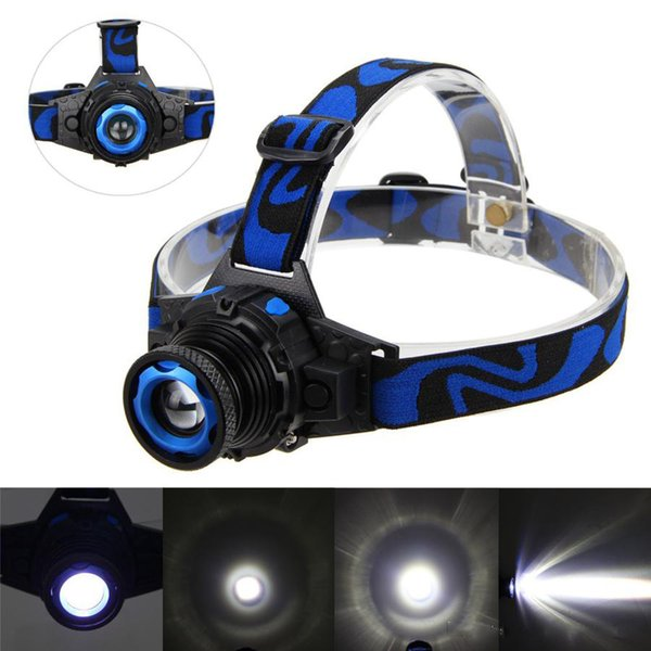 Waterproof Q5 LED Headlamp Zoom USB Rechargeable 3 modes Headlight Torch Head Lamp Spotlight For Car Repair Camping Cycling