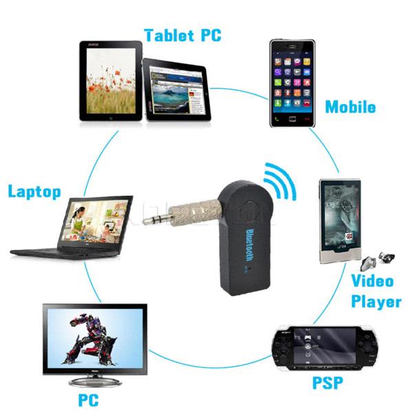Mini 3,5 MM Klinke AUX Audio MP3 Musik Bluetooth Empfänger Car Kit Drahtlose Freisprecheinrichtung Kopfhörer Adapter A2DP USB für iphone