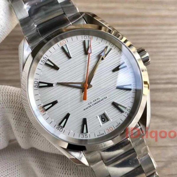 Luxury Stainless Steel Bracelet Aqua Terra 150m Master 23110422101004 designer Man mens Watches automatic Watch Wristwatches