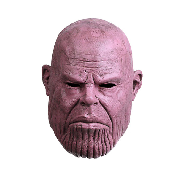 Infinity Avengers Infinity War Helmet Cosplay Thanos Masks Halloween Party Thanos Cosplay Latex Mask Collection Props Thanos Glove