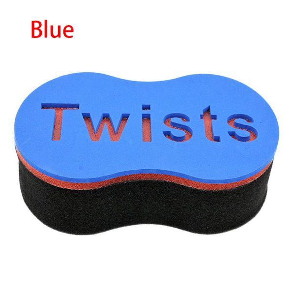 2 Designs Neue Doppelseiten Magic Twist Haarbürste Schwamm Tanne Afro Dreadlocks Lockenbürste Schwamm Haar Flechter Werkzeug