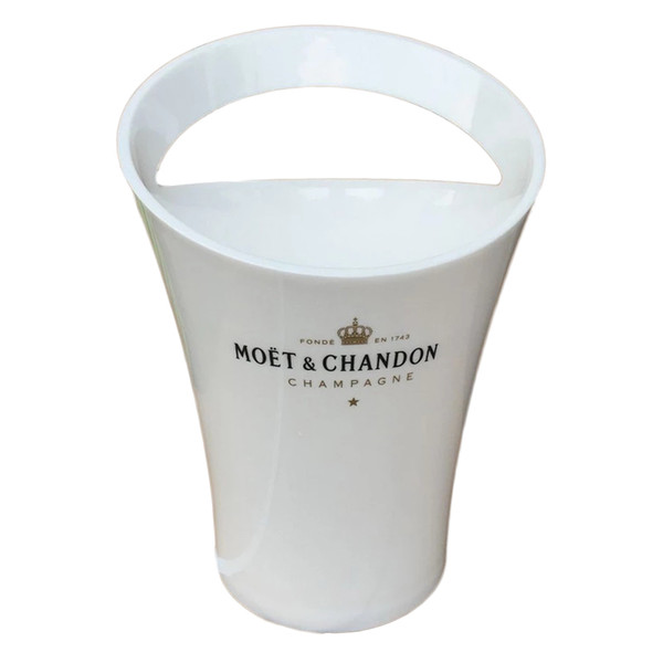 best selling Ice Bucket Chandon Wine Beer Party for 3L Acrylic White Ice Buckets Wine Coolers Wine Holder New Fashion