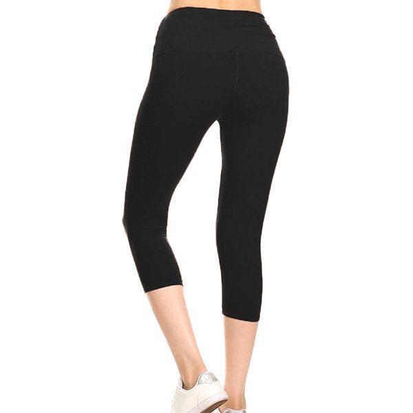 1 Pcs Women Solid Color Slim Pants Leggings Stretchy for Summer Running Sports C55K Sale