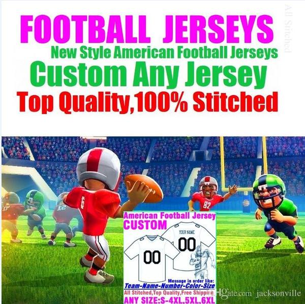 best selling Personalized american football jerseys Custom Minnesota Dallas college authentic cheap baseball basketball mens womens youth USA 4xl ice usa