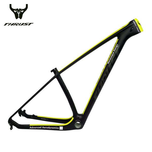 THRUST Carbon Frame 29er Chinese Carbon mtb Bicycle Frame 15 17 19 T1000 Carbon Fibre Bike Frame 27.5 Maxmun load 250kg 8 color