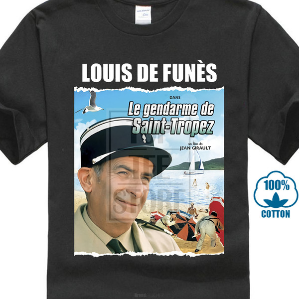 Le Gendarme De Tropez Ver 1 Poster T Shirt All Sizes S 5Xl Louis De Funes 015203