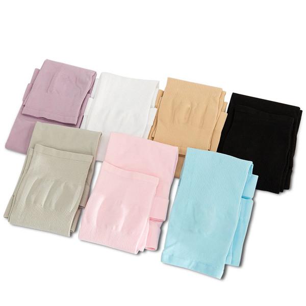 Recién 1 Par de protección UV Manga larga del brazo Correr Golf Ciclismo Calentadores de enfriamiento suave para adultos / niños FMS19