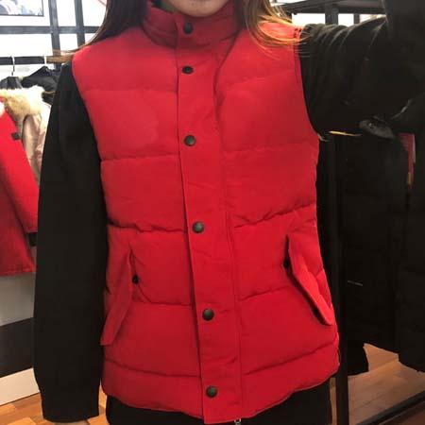 Fashion Winter Down Vest Free Style Women Brand Designer Warm Vests Classic Design Waistcoat Outdoor Sleeveless Female Coat Sale