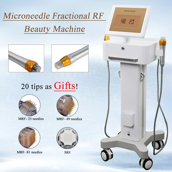 micro-needle fractional rf microneedle skin rejuvenation scar removal acne treatment wrinkle removal beauty machine dhl ing