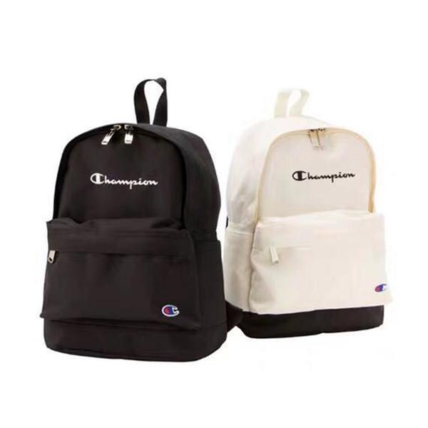 2 Colores Poliéster Mochila Escolar Mochila de alta capacidad Bolsas de almacenamiento de viaje Bolsas escolares para estudiantes Bolsas exteriores DHL FJ280