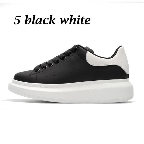 5 black white