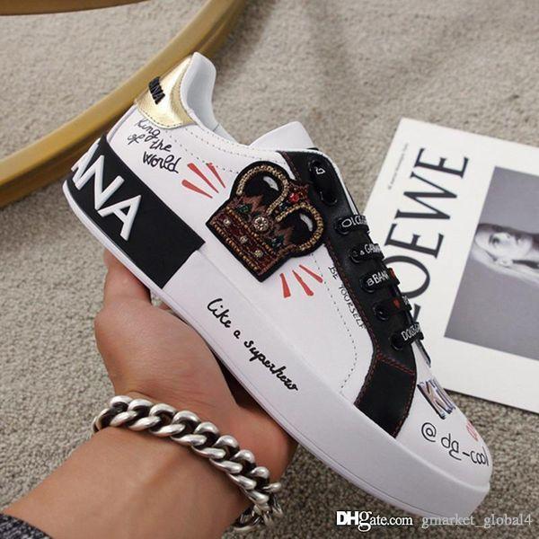 Новые мужские кроссовки мужские и женские PORTOFINO спортивная обувь класса люкс дизайнер обуви Код: CS1570AZ268HWF57 Женский код 35-41 ма