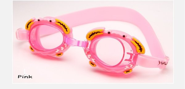 swim glasses pink