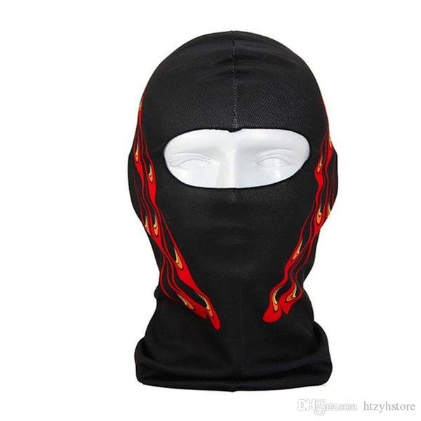 Оптово-маска для человека Thin 3D Открытого велосипедного дышащего материала позволяет легкого дыхание Горнолыжной Балаклава шея Hood Полная маски для лица Hat 1766 P35