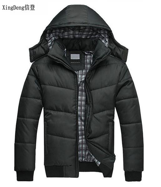 xingdeng cotton parkas male casual jacket hooded thermal down men fashion warm winter hoodies windbreaker warm coat plus 4xl
