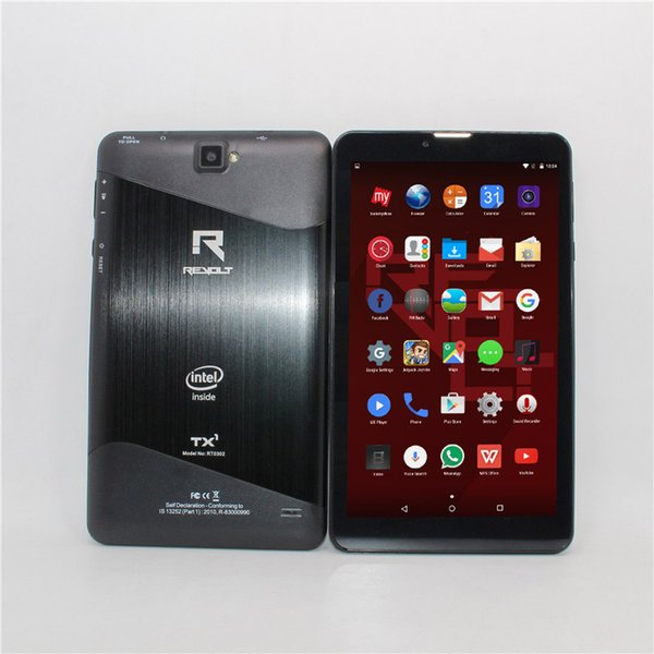 Glavey7 inch 3G Phone Call intel Atom Quad Core 1024*600 Dual cameras BluetoothQuad Core WiFi FM 1GB+8GB Anroid 5.1 Tablet Pc