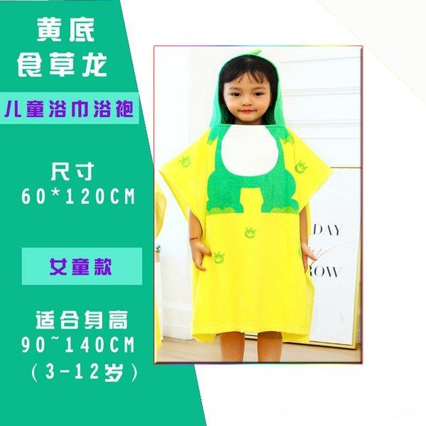 yellow-bottomed dinosaur girl-60x120 (si