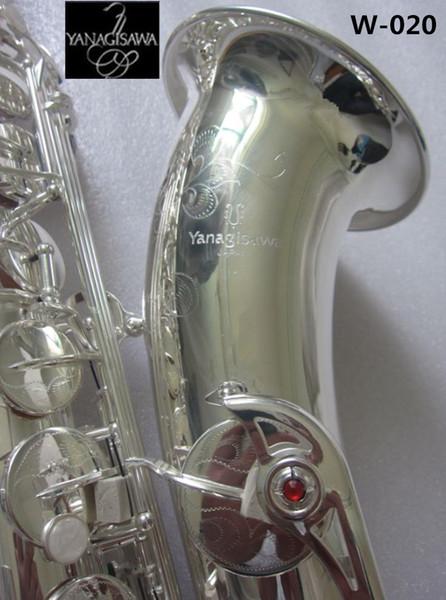 Japan Yanagisawa argento sassofono tenore strumenti musicali di alta qualità piatto B Yanagisawa W-020 Sax musica bocchino
