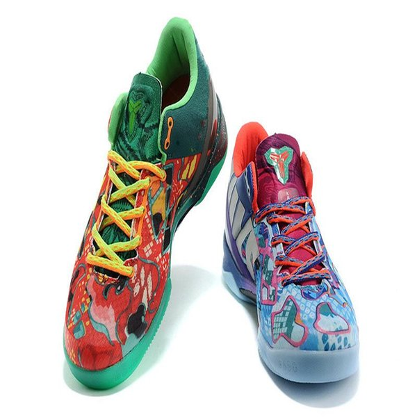 best for ZOOM KOBE VIII 8 SYSTEM PREMIUM basketball shoes What the kobe shoes for men factory price Sports Sneakers Size 7-12 jets