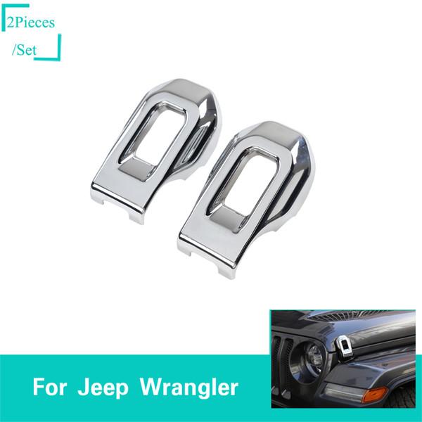 Couvercle décoratif de verrouillage de capuchon argenté pour les accessoires d'extérieur de voiture