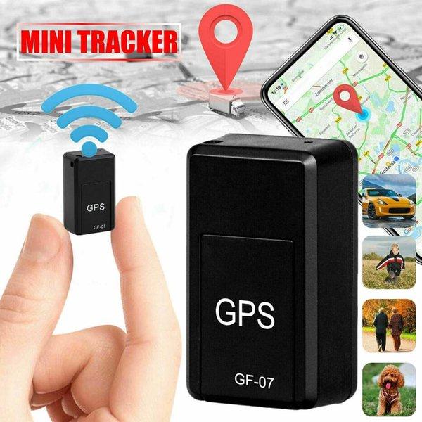 Мини GF-07 GPS трекеры SOS Устройства слежения за автомобилем Детский трекер Локаторы Системы Мини GPS с постоянным магнитом
