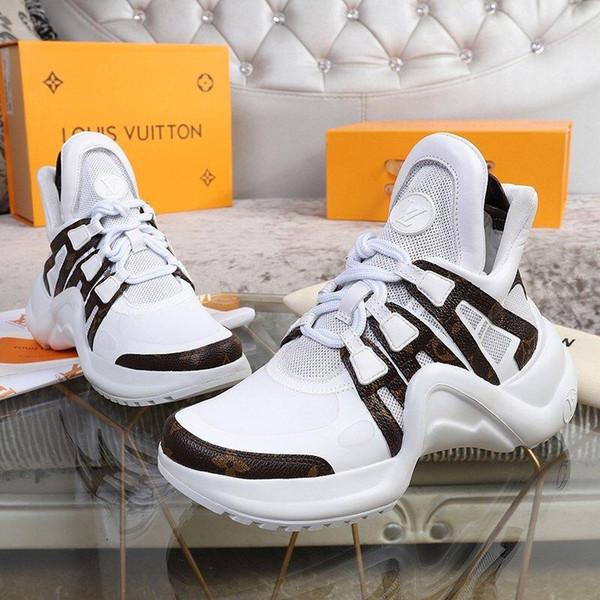 F7 New Limited Edition Chao Brand Women'; S Повседневная Обувь, Модные Одиночные Туфли, Оригинальная Упаковка Коробки, Размер: 35 -40