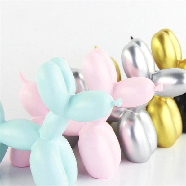 Decorare Dog Balloon Rifornimenti del mestiere della torta di cottura pura decorazione della resina di colore delicato regalo di stile bello del fumetto caldo di vendita 4