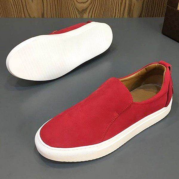 19 years of classic American luxury new leather men's casual shoes, flat soft leather designer men's outdoor driving flat shoes qs