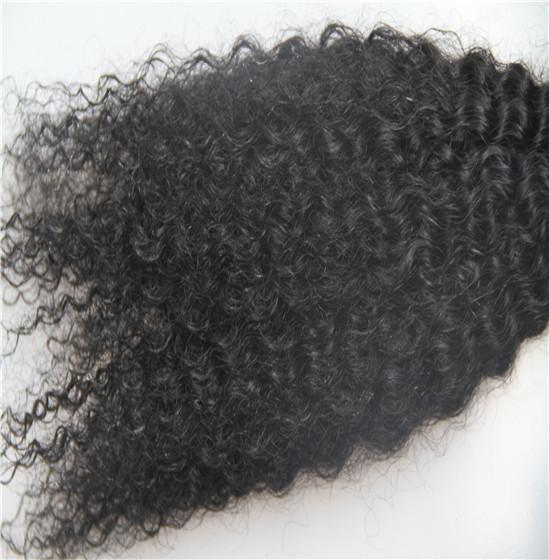Off Black Color Afro Kinky Brazilian Remy Clip In Hair Extensions 100% Human Hair Weva 100g/Set 9 Pieces 6a Clip In Hair