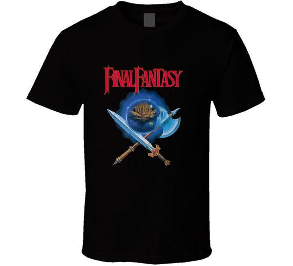 Final Fantasy Nes Box Art Videospiel T-Shirt Viele Farben Geschenk Neu von US