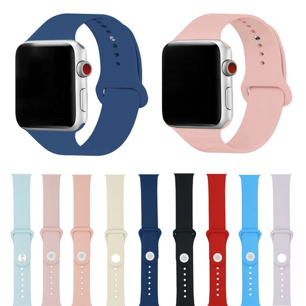 Replacement Silicone Sport Band Strap for Apple Watch 38mm 42mm iWatch Small Hot