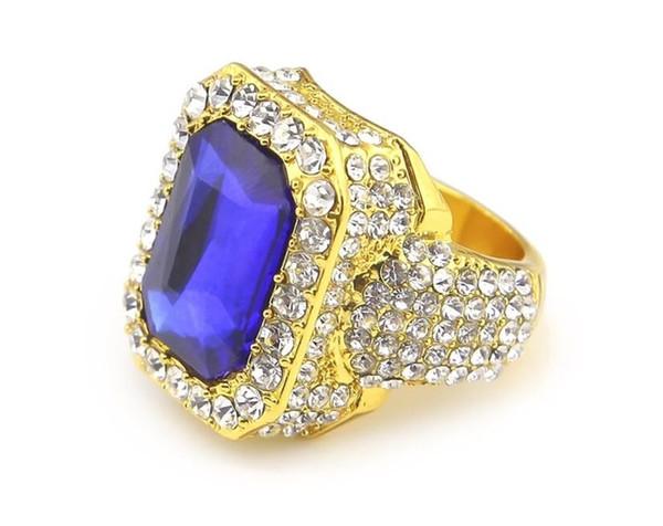 золото голубой камень