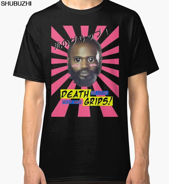 Design T Shirt Short Sleeve Printing O-Neck Mens Death Grips No Love Desu Web Men's Black Tees Shirt Clothing Shirt sbz1172
