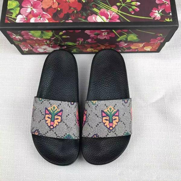 Ace Shoes Women Luxury sandali firmati 20 mix model momen pantofole donna con fiore tigri fiore stampa serpente in pelle R6