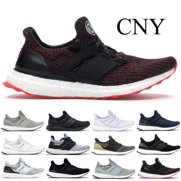 2019 Ultraboost 3.0 4.0 Running Shoes Triple Black Dark Mocha Oreo Primeknit Runner 2019 Ultra Boost Designer Men Women Sports Sneaker From