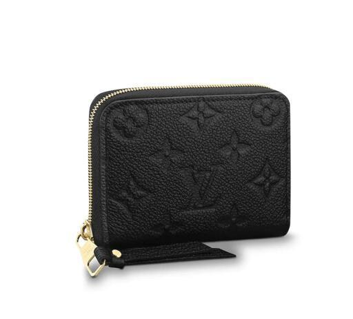 ZIPPY COIN PURSE M60574 2018 NEW WOMEN FASHION SHOWS EXOTIC LEATHER BAGS ICONIC BAGS CLUTCHES EVENING CHAIN WALLETS PURSE