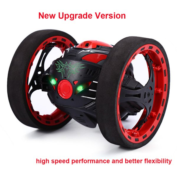 New Upgrade Version Jumping Bounce Car Sj88 Rc Cars 4ch 2 .4ghz Jumping Sumo Rc Car W Flexible Wheels Remote Control Robot Car
