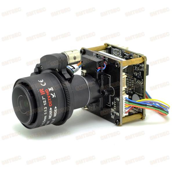 2.7-13.5mm 5X Video Zoom Auto Focus Lens 5MP IP Camera Module OV OS05A10 CCTV Security Main Board Camera PCB SIP-E510DML-27135