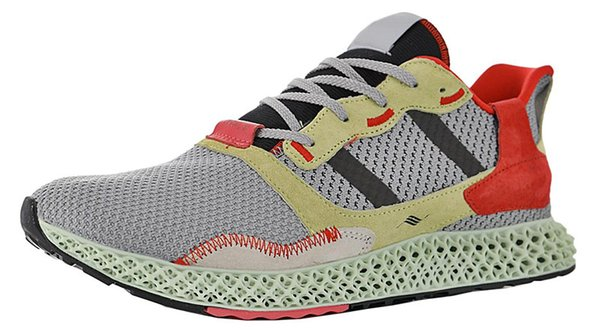 Mens ZX4000 Futurecraft 4D Carbon Trainers for Men's ZX 4000 Sneakers Male Running Shoes Women Sports Shoe Womens Trainer Female Sneaker Man